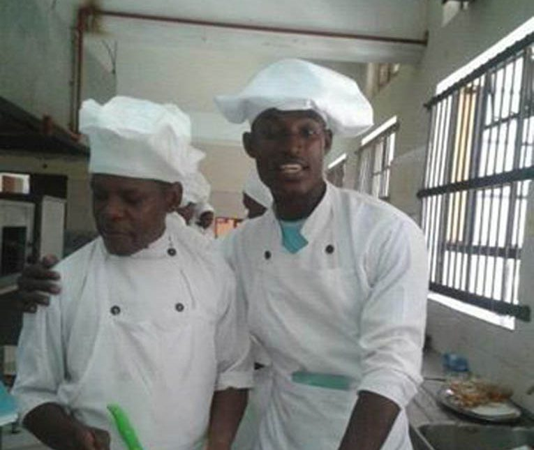 Suleman Abdallah the chef