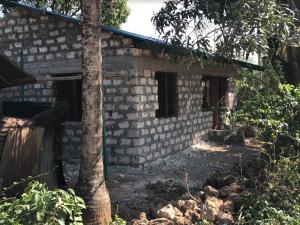 Rebuilt house, Kenya