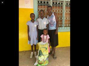 Sandra's 'family' in Kenya